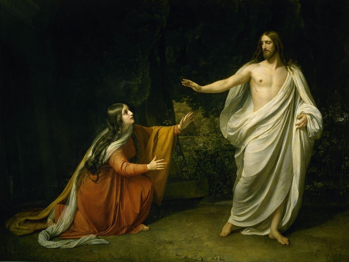 Явление Христа Марии Магдалине после воскресения